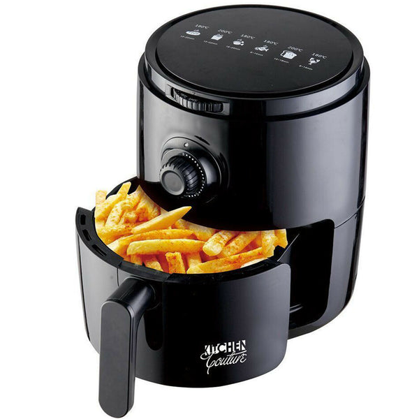 18153 Merge Appliance Couture Air Fryer No Oil Cooking 3.4L Capacity Black Celebration