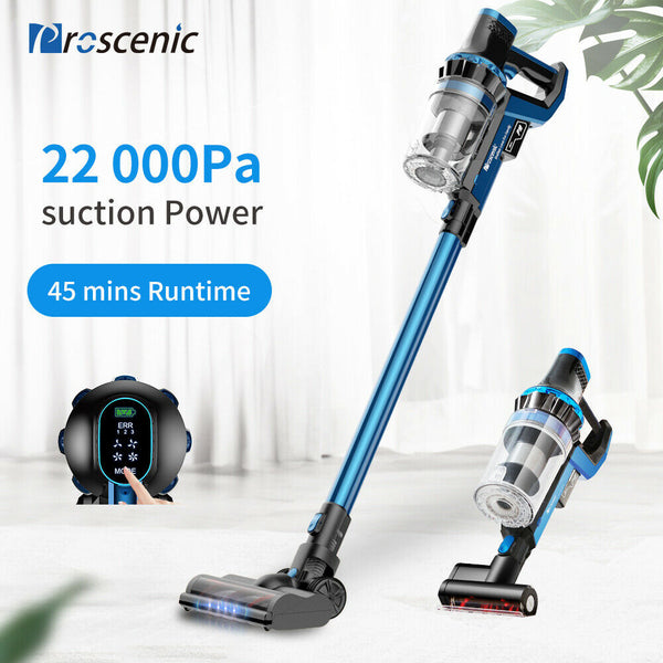 18158 Merge Exquisite Prosecnic P10 Cordless Vacuum cleamer Pet Hair W/Led Touch Screen Display 22000Pa AU
