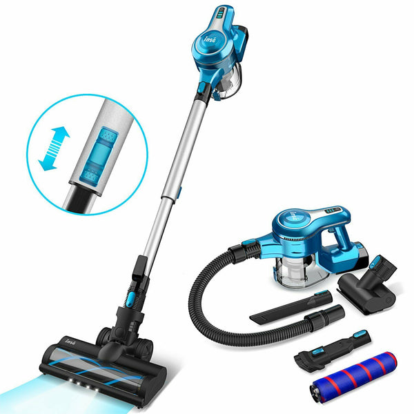 18159 Merge Exquisite Inse 23KPa Cordless Vacuum Cleaner Stick Handstick Bagless Recharge 2-In-1 Brush