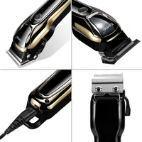 18188 Merge Health Professional Electric Mens Hair Clipper Shaver Trimer Cutter Cordless Razor Combo