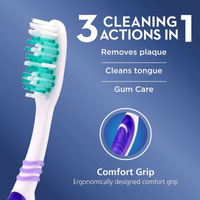 18190 Merge Health 3 Pieces Oral B All Rounder Tooth Brush Soft 123 Clean Dental Health  $3.88 each