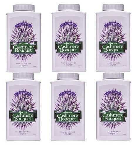 18215 Merge Powder 6 Cashmere Bouquet Talcum Powder Lavender 250g Total 6 units