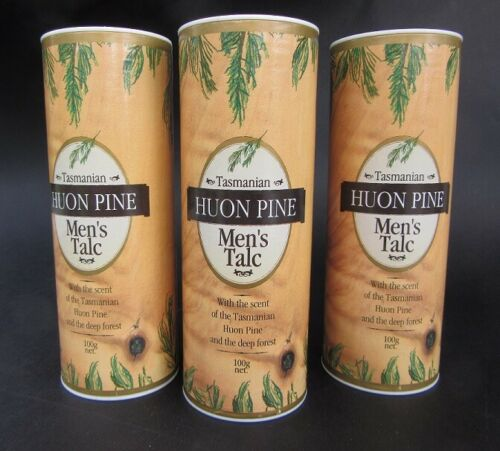 18216 Merge Powder Huon Pine Talcom Powder 3 x 100g