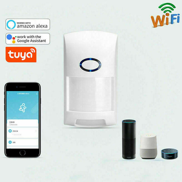 18234 Merge Tuya Wifi PIR Motion Sensor Wireless Infrared Alarm Dectector Tuya Smart Life App Intelligence Awesome Celebration