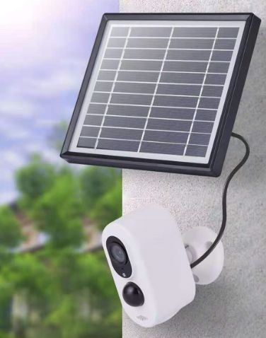 19108 Merge BST-JDW-1 ( P) Sale  Solar Security Camera With Solar Panel Plastic Casing Diamonds Awesome Celebration Intelligence