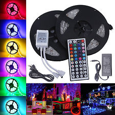 22101 RGB 5050 5 Mt Strip Roll Pack SMD 5050 + 44 Key Remote Flexible Sale.