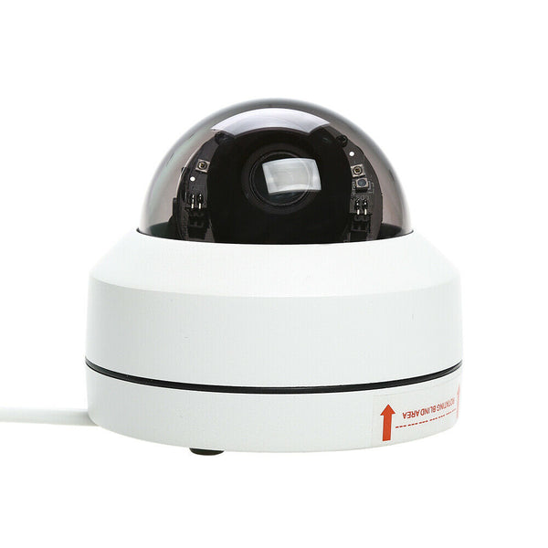 22105 Merge 1080P PTZ Dome Cam CCTV Security Camera Night Vision Recorder Auto Zoom White Diamonds.