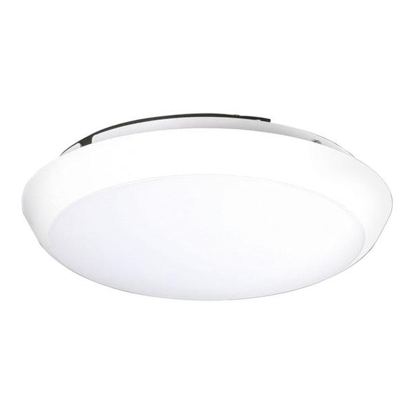 24105 Gunn Sal 25W 5K Led Oyster Light SL210530DL Glowing.