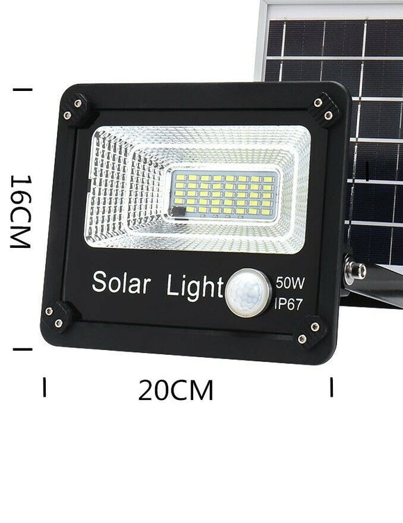 25111 Merge 50W Solar flood Light 240V with cables to join together Sunshine Outback Glowing Celebration Sale Diamonds..