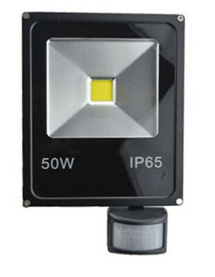 25117 Gunn 50W 240V AC Flood Light With Sensor Efficient Celebration Glowing Sale.