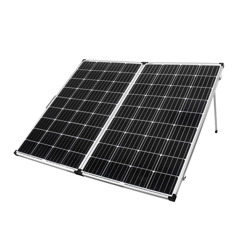 25125 300W Folding Solar Panel Mono Caravan Camping Battery Charging MPPT Controller Outback Sale.