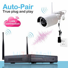 Load image into Gallery viewer, 25137 Gunn Felong Genesis2 960p HD Wireless IP Camera Security Video surveillance system 4 cameras Celebration Secure.
