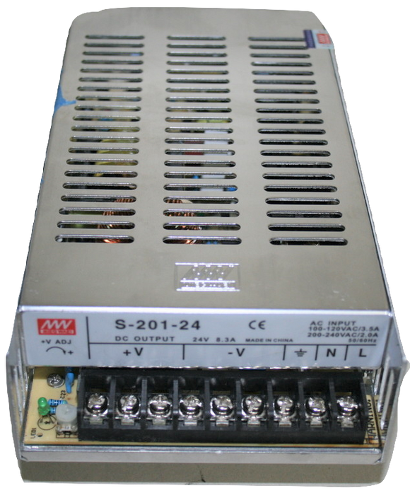 26007 Gunn MW Power supply 24VDC S-201-24 Priced To Suite.