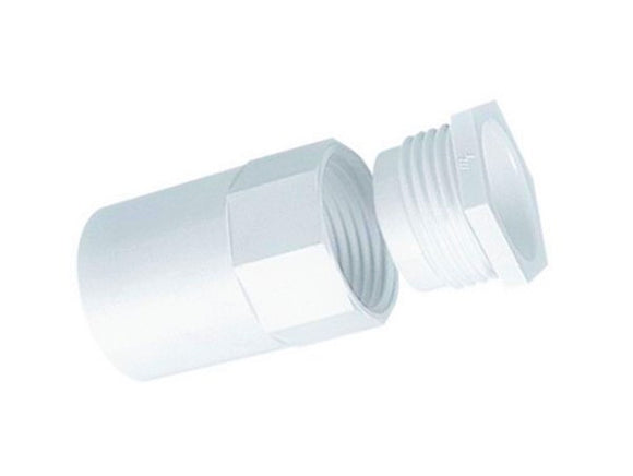 27145 Gunn 20mm Plain To F-M Screwed Adaptor With Reducer Duty.