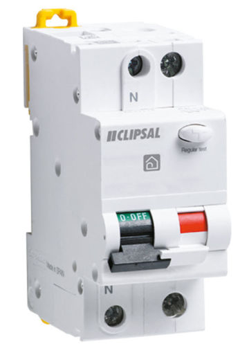 5120 Gunn Clipsal Combination RCBM 210-30 2 Pole 10AMP Safety Switch.
