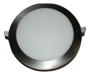 6101 Gunn Led 18W 45K 225 Round Down Light Stainless Steel Rim Best Sale.