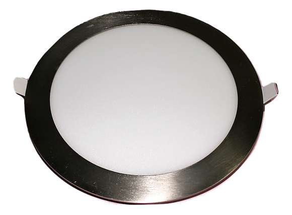 6104 Gunn Led 18W 6K 225 Dia O/A Down Light stainless Steel Rim Best Sale.