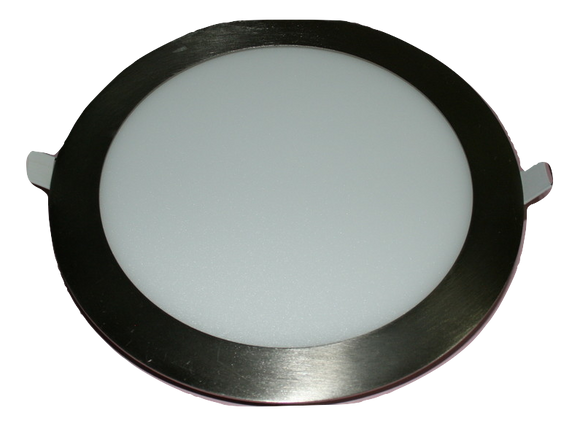 8102 Gunn Led 12W 45K 170 Dia O/A Down Light Stainless Steel Rim New Sale