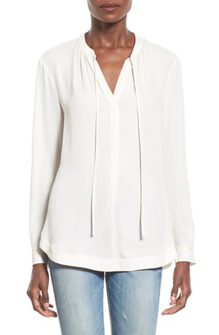 ASTR Dawn Blouse in Ivory