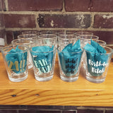 Steel Petal Press Shot Glasses -- SWANKBOUTIQUE.COM