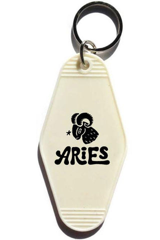 Aries Key Tag