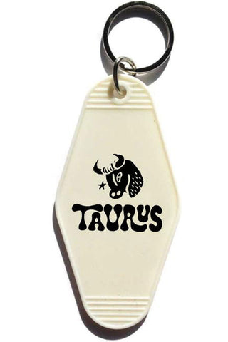 Taurus Key Tag
