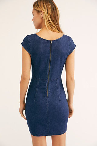 Lia Denim Mini Dress