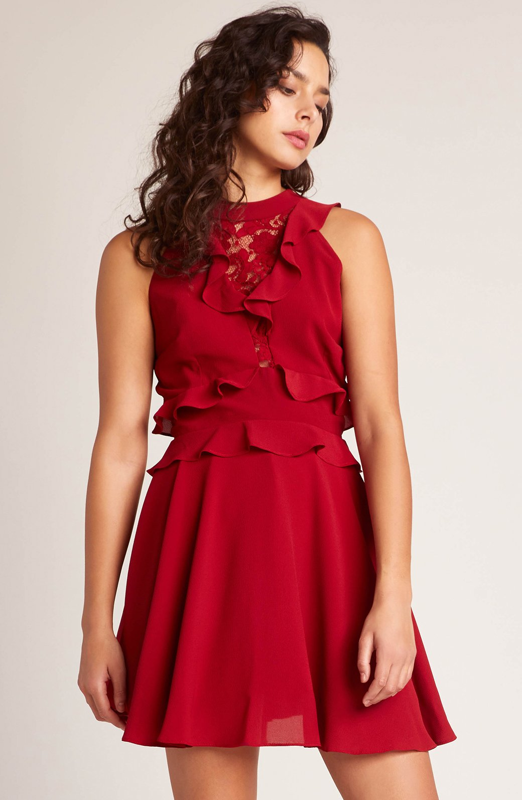 Crazy In Love Ruffle Dress