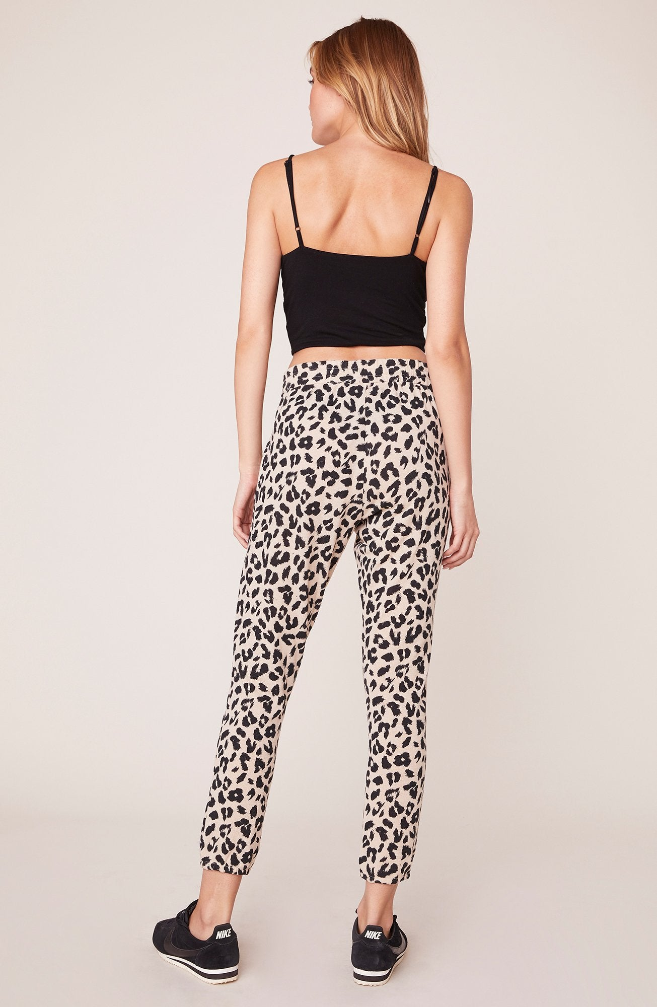 Cat Walk Leopard Jogger