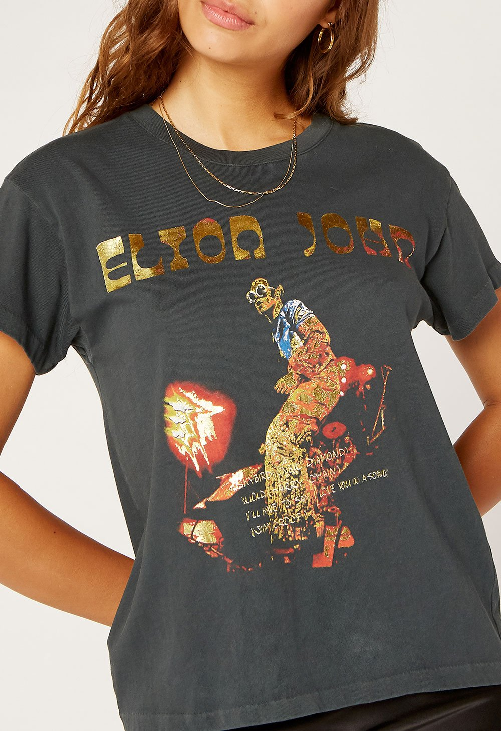 Elton John Bennie And The Jets Tour Tee