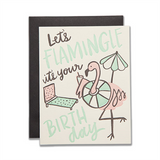 Let's Flamingle Card