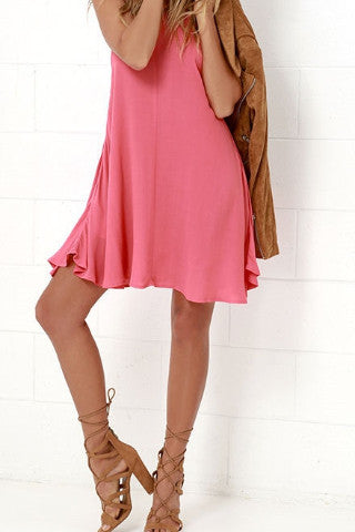 Mink Pink Wonder Why Swing Dress - SWANKBOUTIQUE.COM