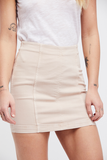 Modern Femme Denim Mini in Vintage White