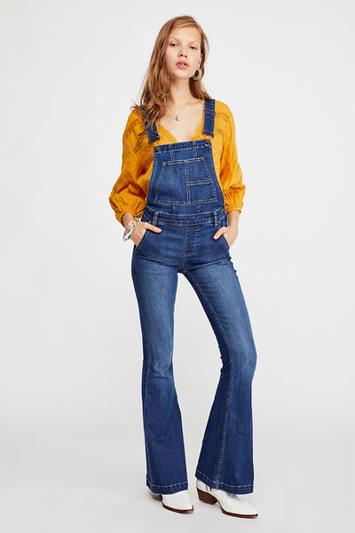 Carly Flare Overalls