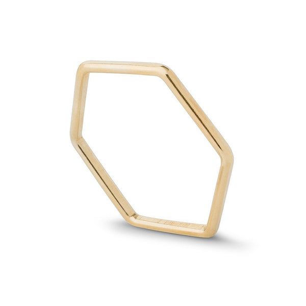 Hex Stacking Ring