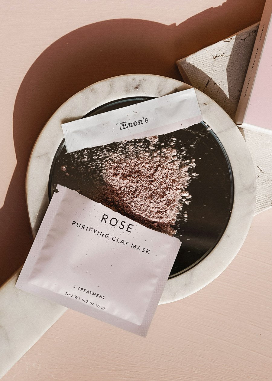 Rose Purifying Face Mask - SINGLES