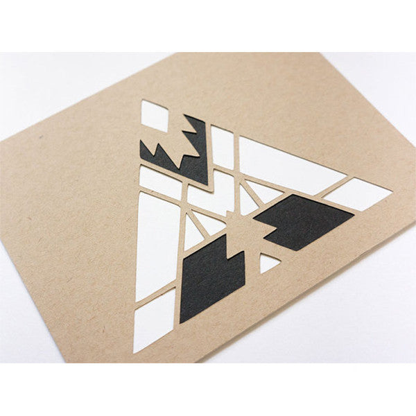 Fire Cut Paper Card