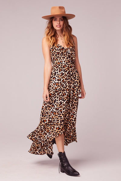 Born To Be Wild Leopard Dress