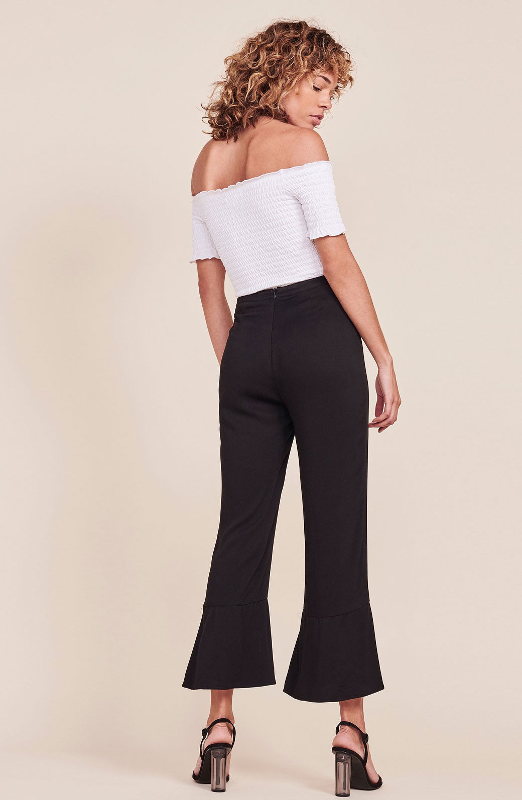 Kane Ruffle Bottom Pants