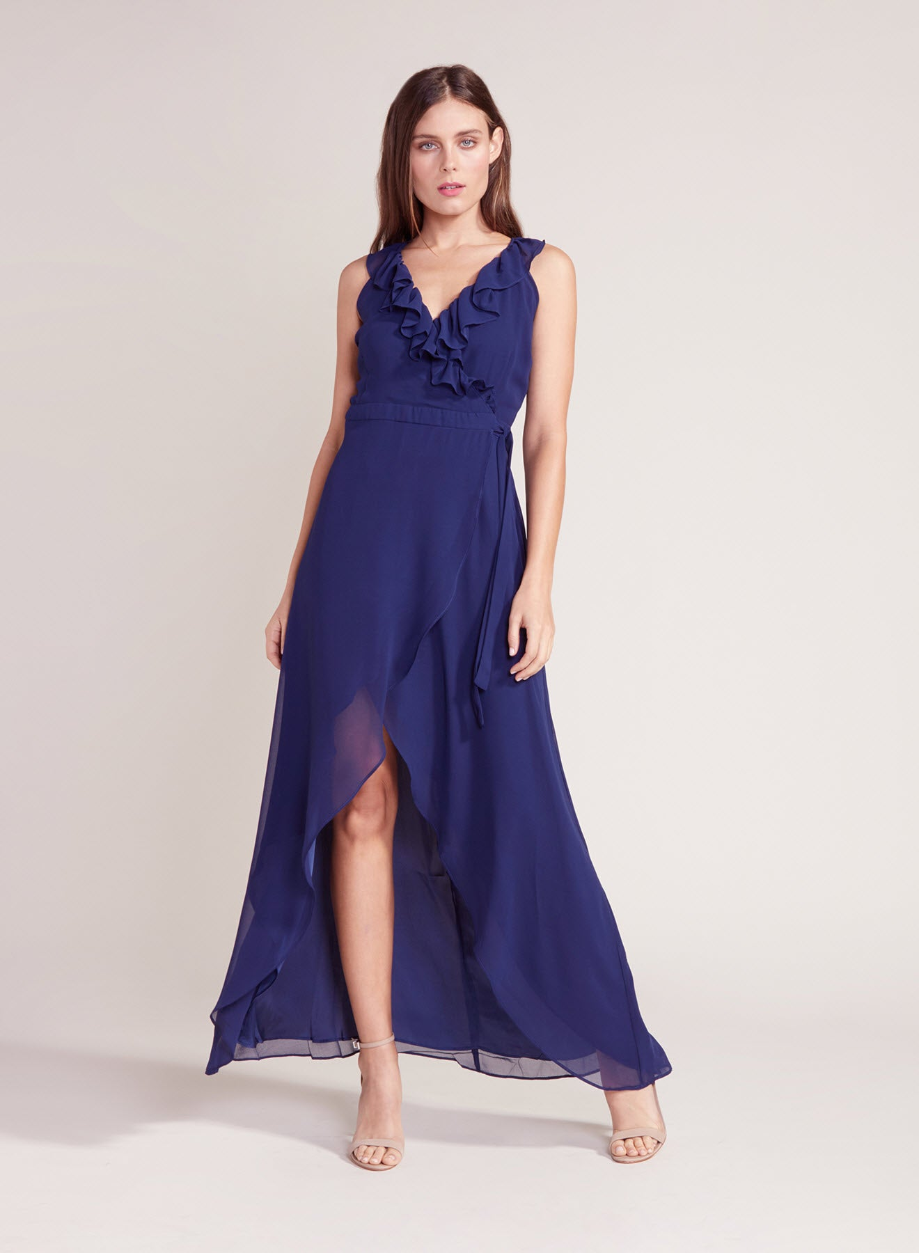 Formation Cross Back Maxi Dress