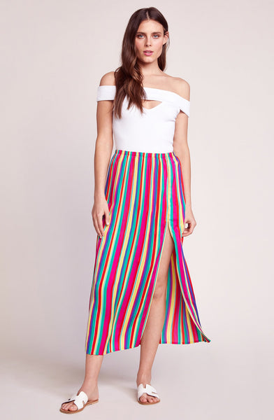Outside The Lines Midi Skirt