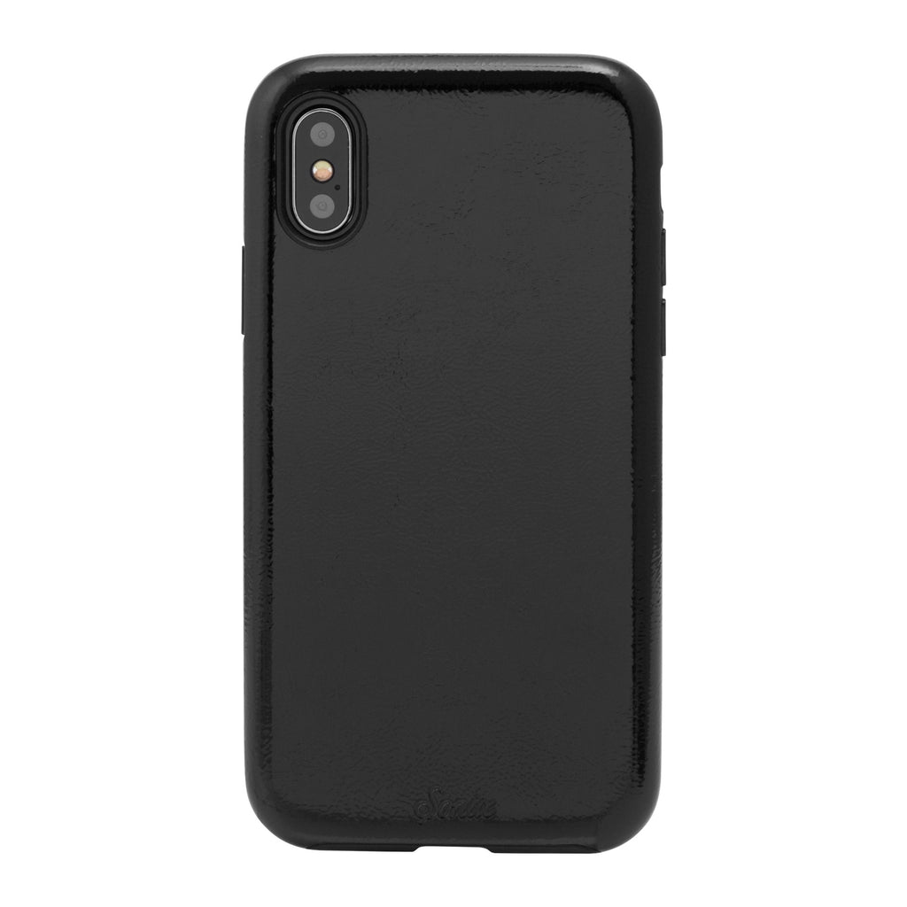 Black Patent iPhone X Case