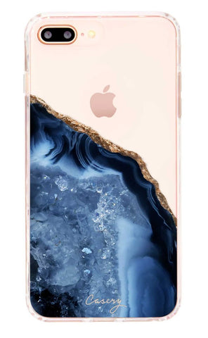 Dark Blue Agate iPhone 8/7/6s/6 PLUS Case