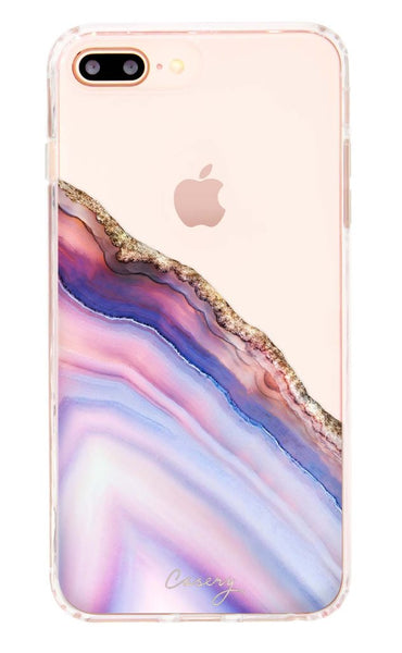 Pink and Blue Agate iPhone 8/7/6s/6 PLUS Case