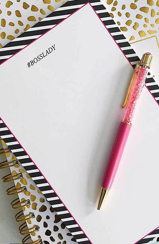 Boss Lady Notepad