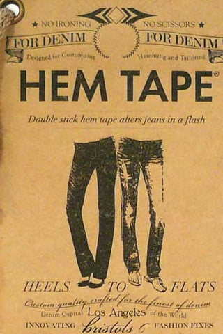 Hem Tape for Denim