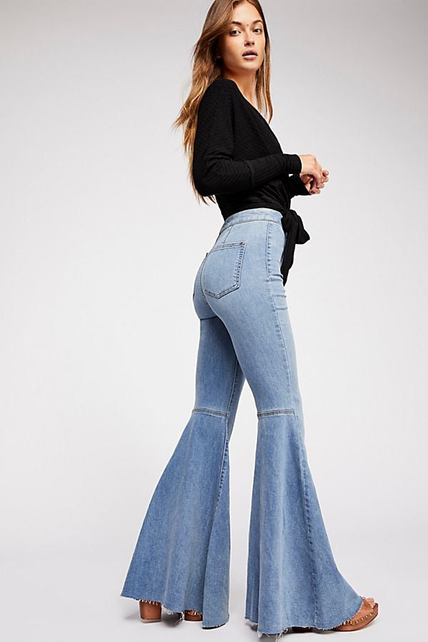 Just Float On Flare Jeans