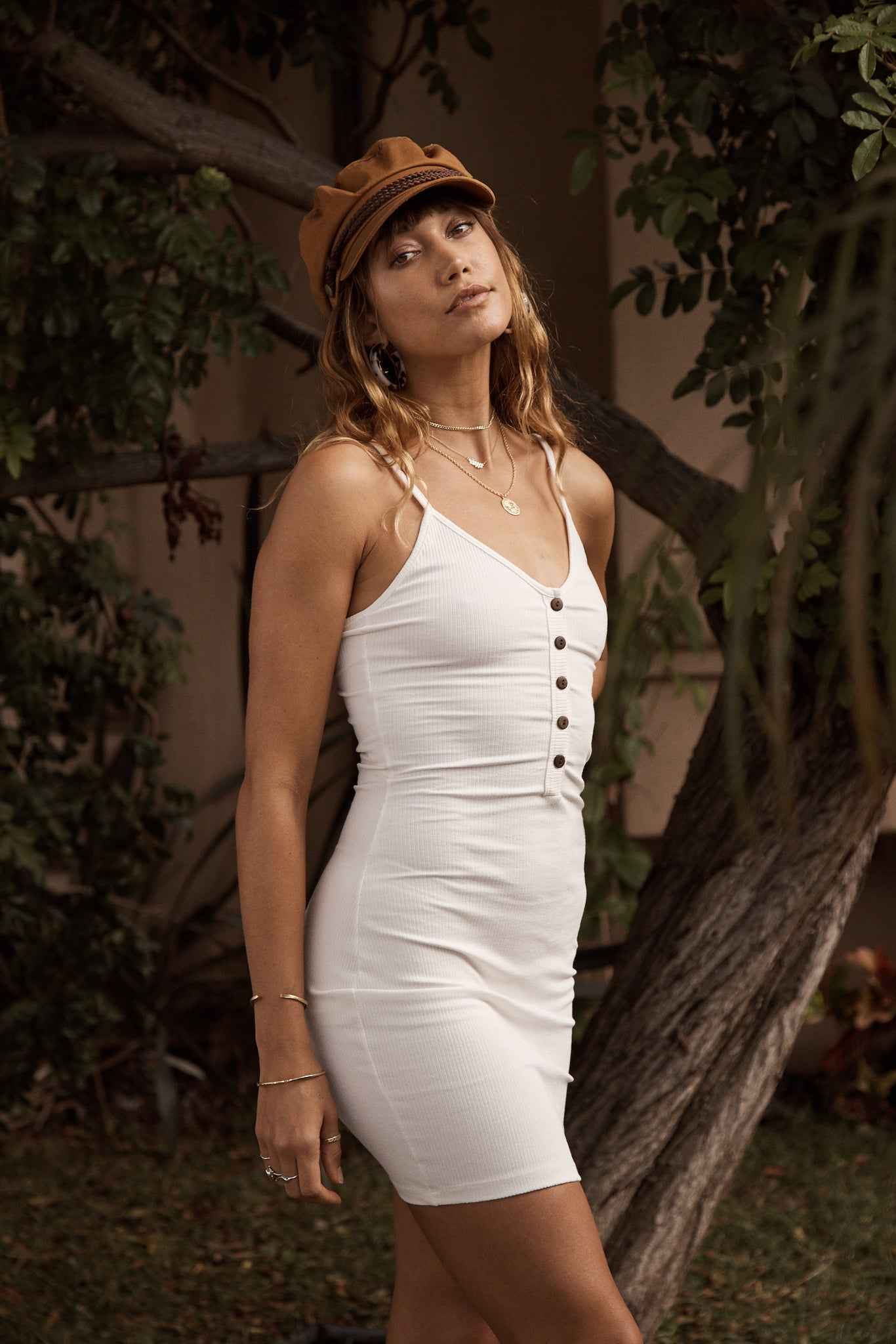 California Ribbed Dress