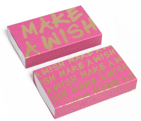 Make A Wish Matchbox