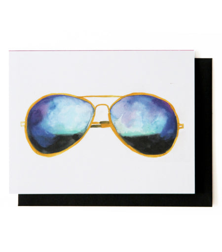 Aviator Sunnies Card
